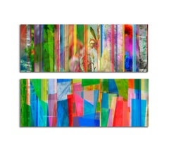 Duration #3 and #4, (Diptych) Large