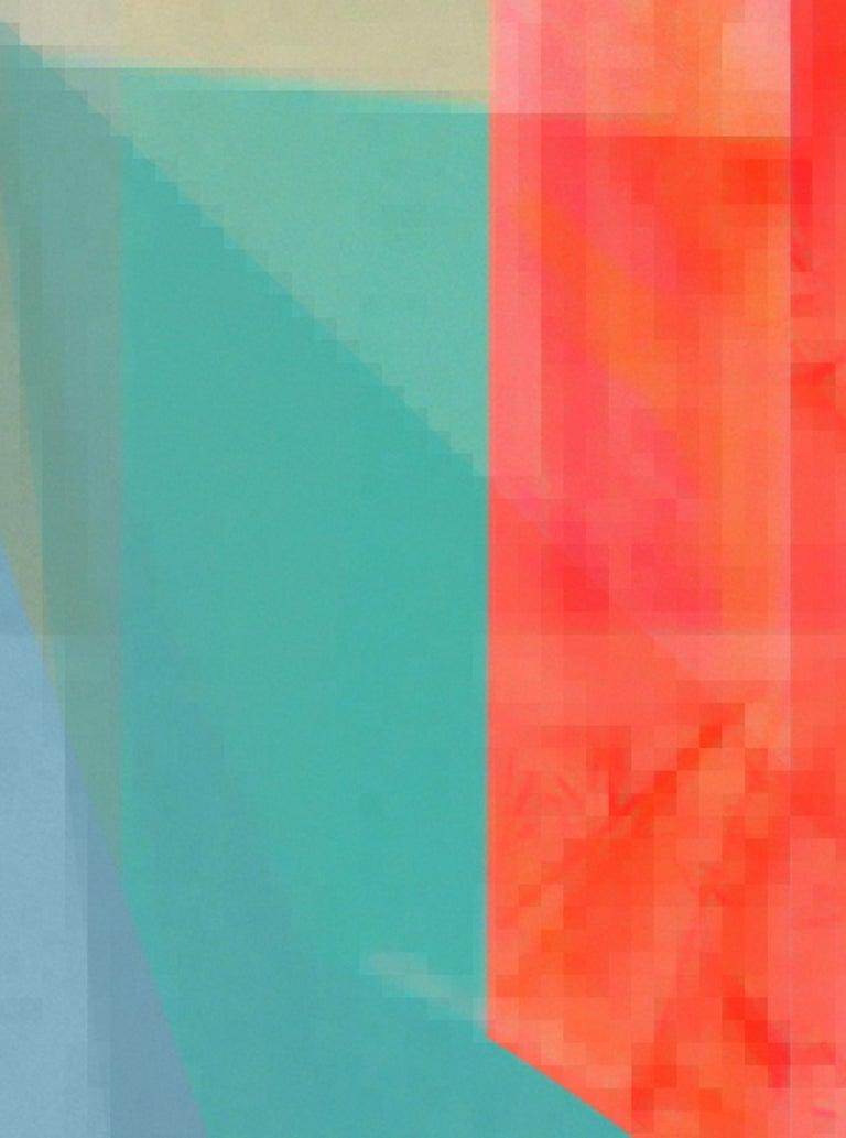 Timeless 11, Medium Archival Pigment Print - Abstract Geometric Photograph by Monika Bravo