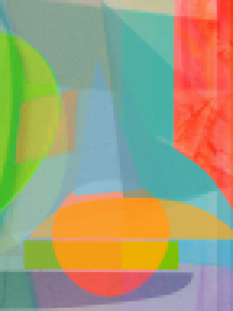 Monika Bravo Abstract Photograph - Timeless 11, Medium Archival Pigment Print