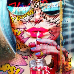 """Venice Beach"" -- Pop art, pop culture, feminism, woman power, woman empowerment"
