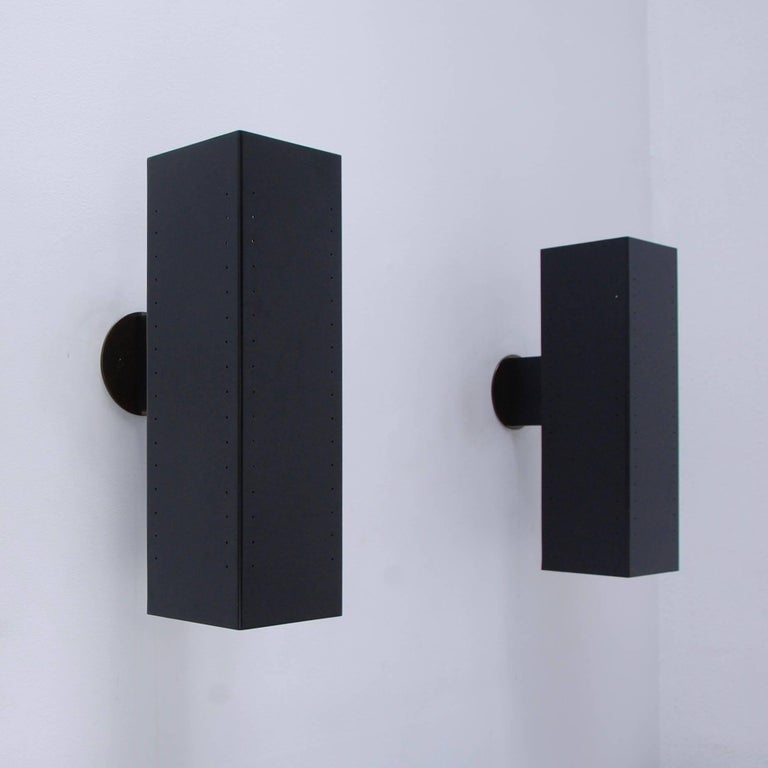 MonLUlith Outdoor Sconces In Excellent Condition For Sale In Los Angeles, CA