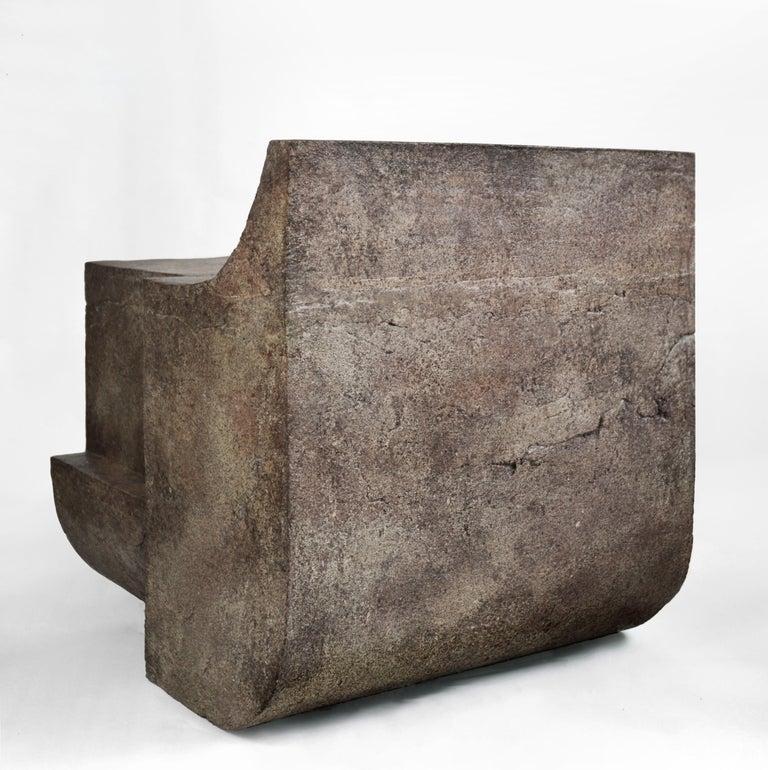 Modern Mono Block Chair, Isac Elam Kaid For Sale