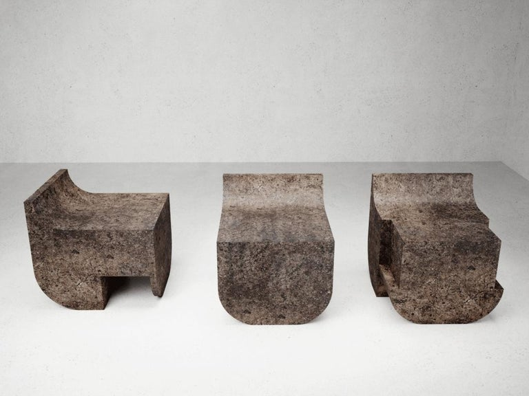 Contemporary Mono Block Chair, Isac Elam Kaid For Sale