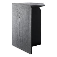 Mono Contemporary Side Table in Wood by Lucas Faber