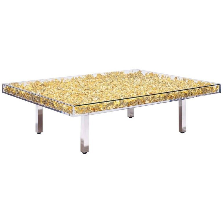 Monogold Table By Yves Klein For Sale At 1stdibs