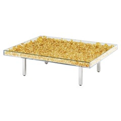 Monogold Table Yves Klein Table, Made in France