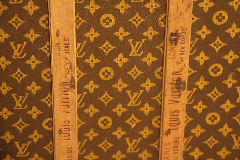 Monogram Louis Vuitton Trunk Louis Vuitton Steamer Trunk, Louis Vuitton Courrier For Sale 7