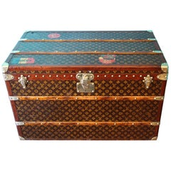 Monogram Louis Vuitton Trunk Louis Vuitton Steamer Trunk, Louis Vuitton Courrier