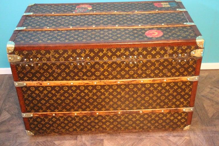 Monogram Louis Vuitton Trunk, Louis Vuitton Steamer Trunk,Louis Vuitton Courrier For Sale 7