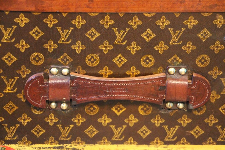 Monogram Louis Vuitton Trunk, Louis Vuitton Steamer Trunk,Louis Vuitton Courrier For Sale 9