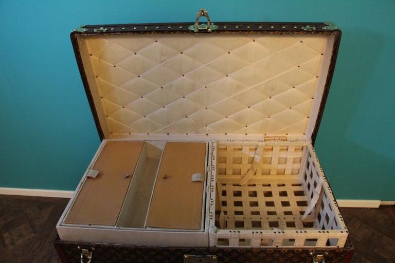 Monogram Louis Vuitton Trunk, Louis Vuitton Steamer Trunk,Louis Vuitton Courrier For Sale 11