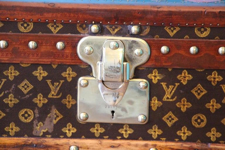 Monogram Louis Vuitton Trunk, Louis Vuitton Steamer Trunk,Louis Vuitton Courrier For Sale 1