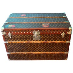 Monogram Louis Vuitton Trunk, Louis Vuitton Steamer Trunk,Louis Vuitton Courrier