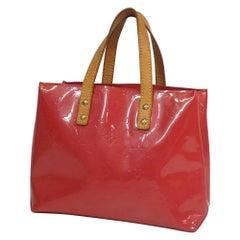 Louis Vuitton Monogram  Verni  Lead PM  Womens  handbag M9132F  Framboise