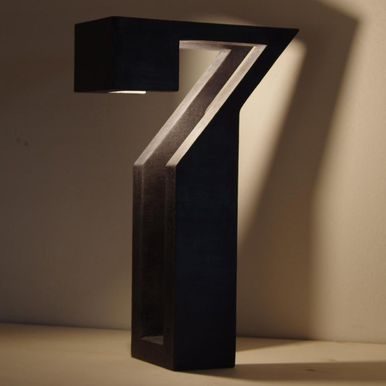 Contemporary Monolite 3-Light Sculpture by Giorgio Cubeddu For Sale