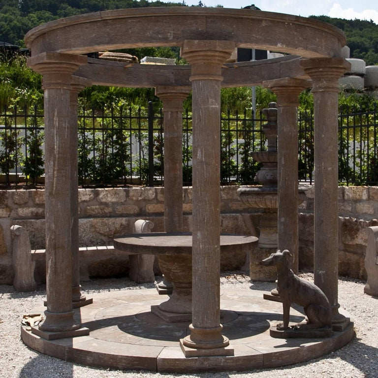 Neoclassical Monopteros as Garden Pavilion, 21st Century For Sale
