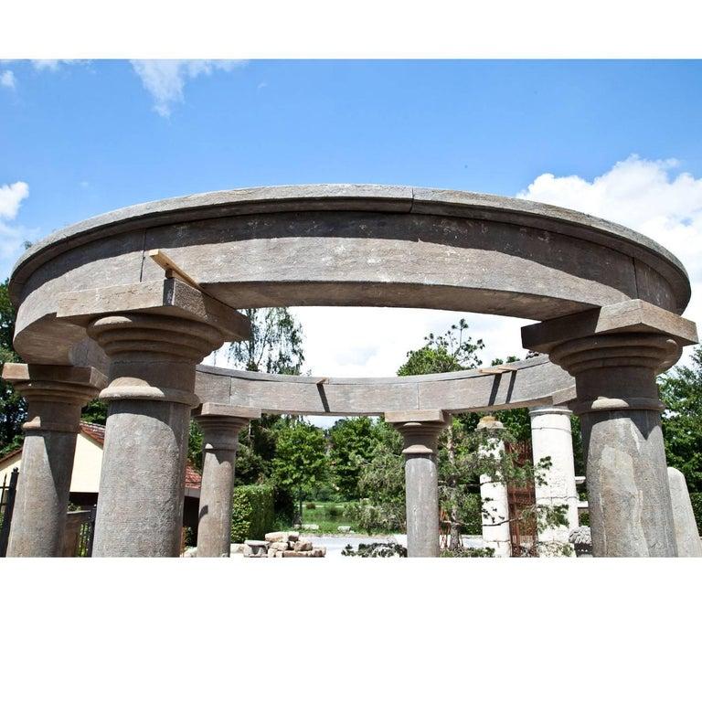 Contemporary Monopteros as Garden Pavilion, 21st Century For Sale