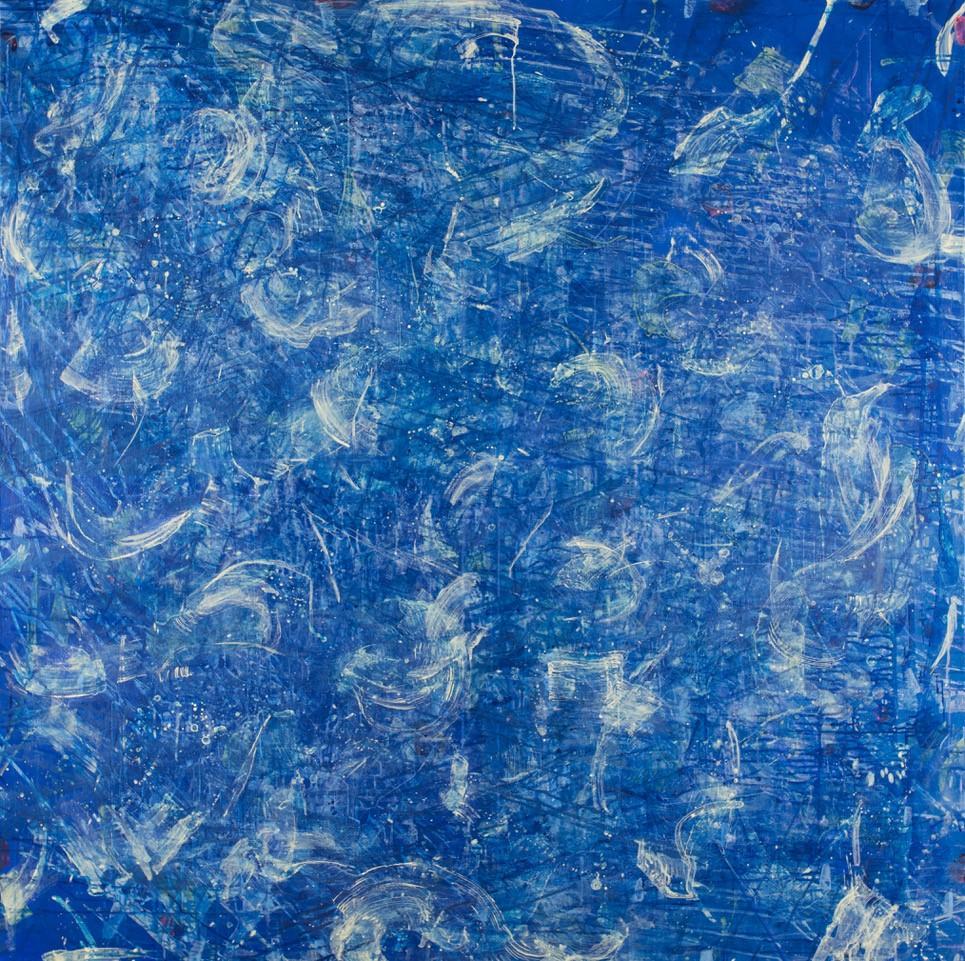 On Stellar Rays -Monroe Hodder, American, Abstract, Juxtapositions, Bold, Modern
