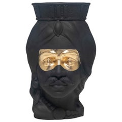 Monsieur Nox Head Vase