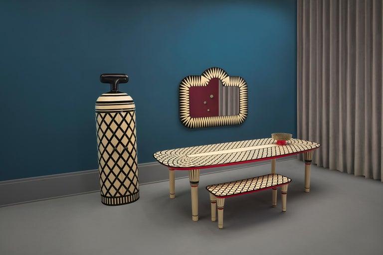 Monsieur Verdoux Storage Bar Cabinet by Matteo Cibic For Sale 2