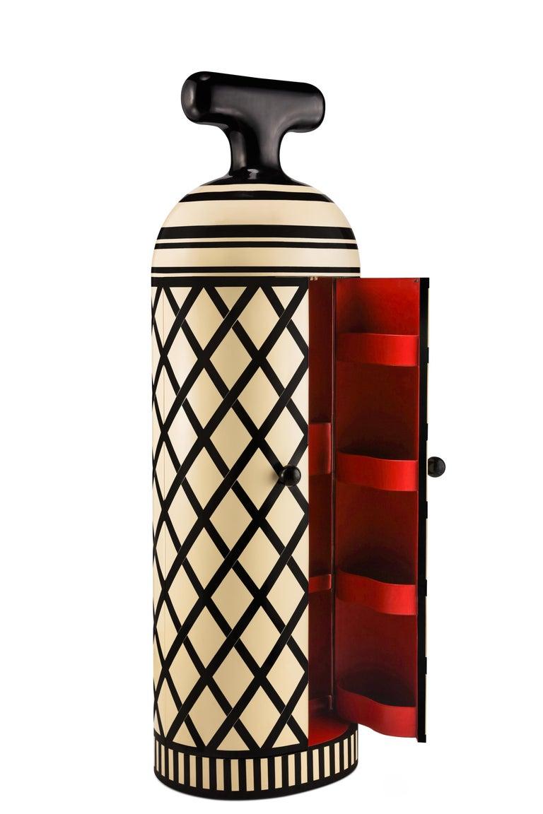 Modern Monsieur Verdoux Storage Bar Cabinet by Matteo Cibic For Sale