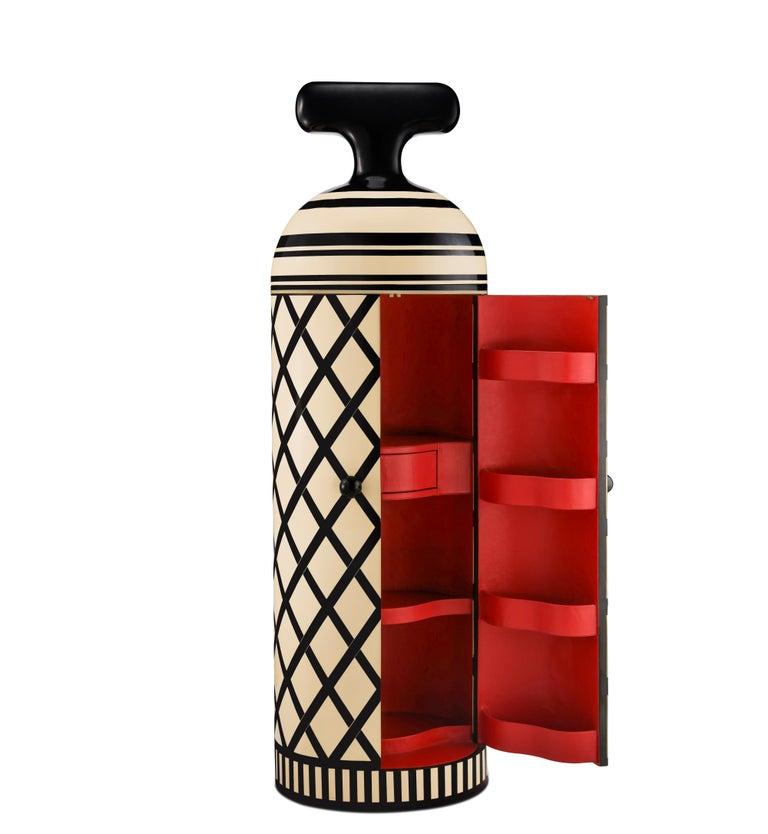 Indian Monsieur Verdoux Storage Bar Cabinet by Matteo Cibic For Sale