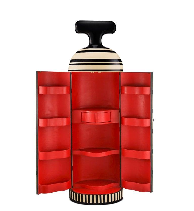 Inlay Monsieur Verdoux Storage Bar Cabinet by Matteo Cibic For Sale