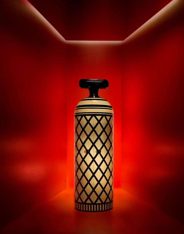 Monsieur Verdoux Storage Bar Cabinet by Matteo Cibic For Sale 1