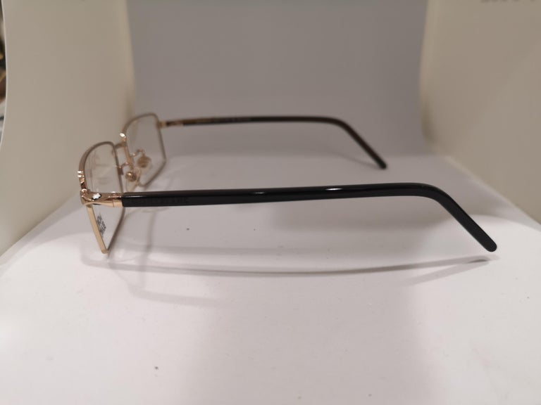 Mont Blanc gold plated glasses frames  For Sale 2