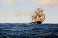The Bostonian - Montague Dawson - British