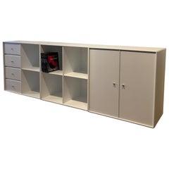 Montana Furnitures Book Shelf. New White. Design by Peter Lassen