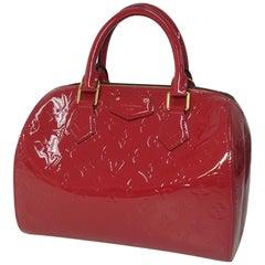 Montana  Monogram  Verni  Womens  shoulder bag M90084  Rose Indien Leather