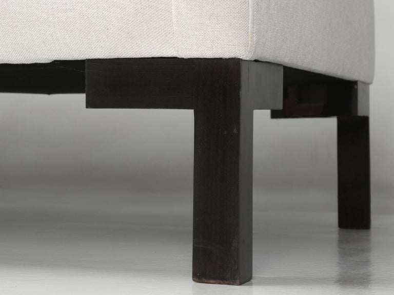 Montauk Sofa Handmade in Montreal, Canada For Sale 4