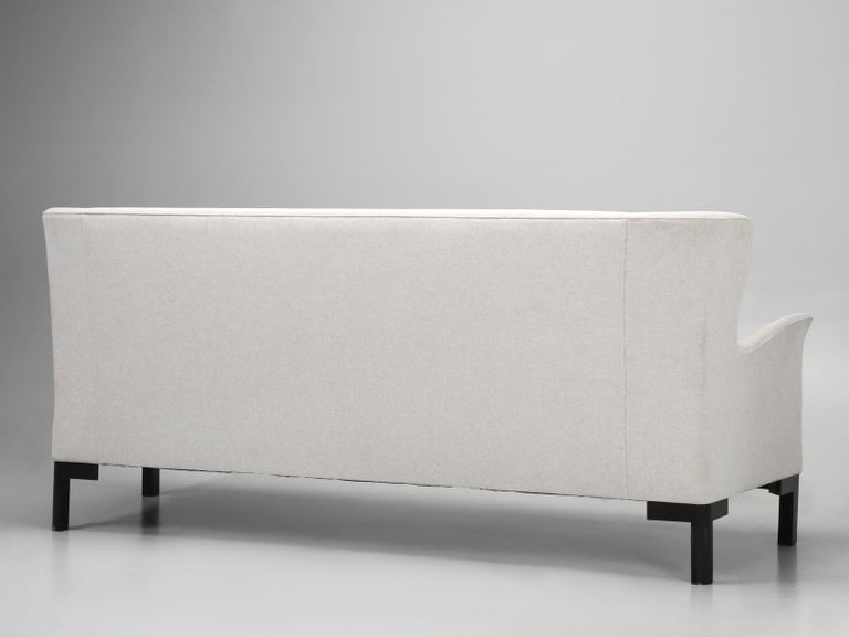 Montauk Sofa Handmade in Montreal, Canada For Sale 9