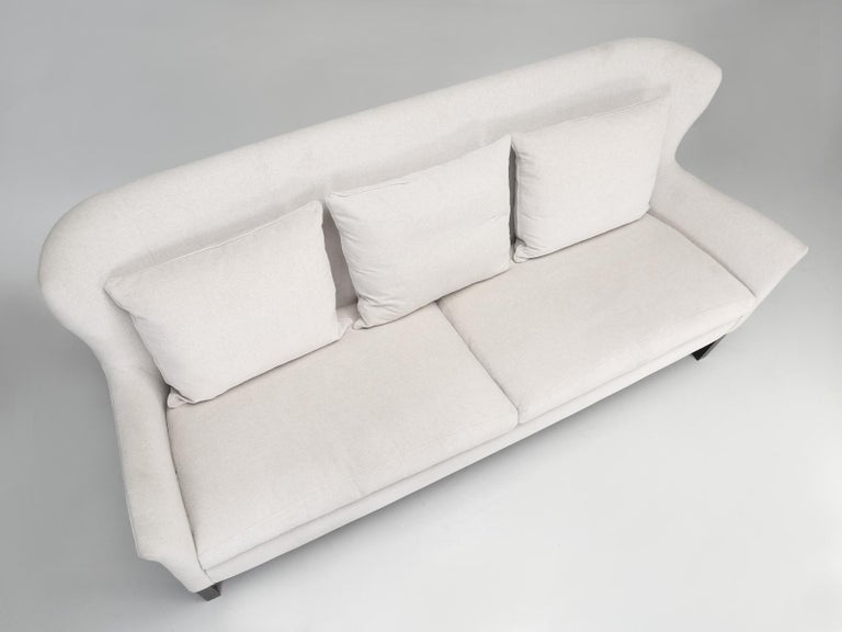Canadian Montauk Sofa Handmade in Montreal, Canada For Sale