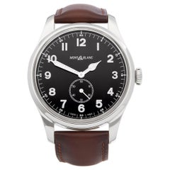 Montblanc 1858 Automatic Small Seconds Stainless Steel 115073