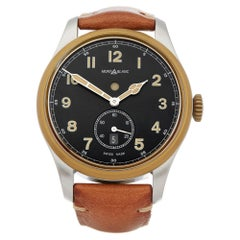 Montblanc 1858 Dual Time Stainless Steel and Bronze 116479