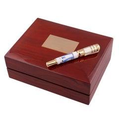 Montblanc 5/10 Limited Edition Max Reinhardt Sapphire Fountain Pen, 2003