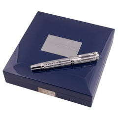 Montblanc 5/8 Limited Edition White House 18 Karat Gold Fountain Pen