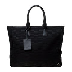Montblanc Black Mystery Canvas Westside Tote