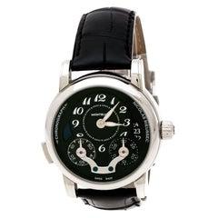 Montblanc Black  Nicolas Rieussec Monopoussoir 106488 Men's Wristwatch 43 mm