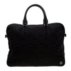 Montblanc Black Nylon Meisterstuck Briefcase