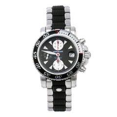 Montblanc Black Sport XXL 102359 Automatic Chronograph Men's Wristwatch 41.50 mm