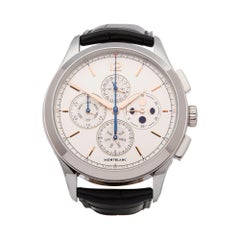 Montblanc Heritage Chonométrie Annual Calendar Chronograph Stainless Steel