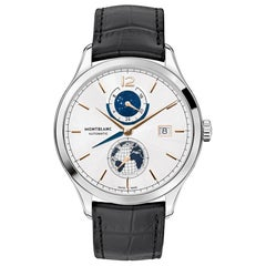 Montblanc Heritage Chronometrie Dual Time Men's Watch 113779