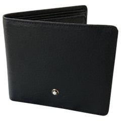 Montblanc Meisterstuck Black Leather Men's Wallet