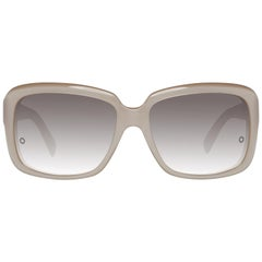 Montblanc Mint Women Beige Sunglasses MB466S 5974F 59-16-141 mm