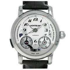 Montblanc Nicolas Rieussec 106595, Case, Certified and Warranty