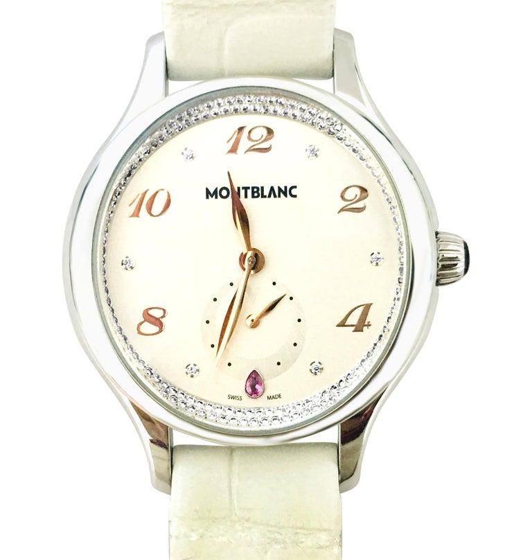 Montblanc Princess Grace De Monaco Ladies Watch In Good Condition For Sale In Miami, FL