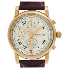 Montblanc Star 102345, Beige Dial, Certified and Warranty